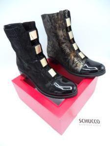 Schucco Schuhe RohmerBoots schwarz Muster